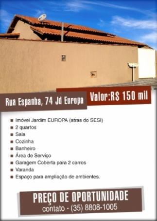 Minas Gerais - Tres Coracoes - Jardim Europa, Residencial -